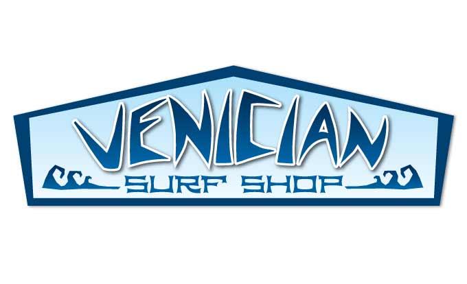 Surf Shop Logo Venician Surf Shop Logo